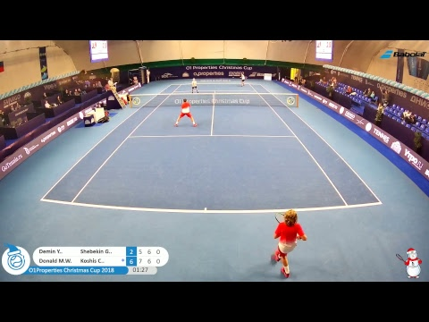 O1Properties Christmas Cup 2018 Centre Court 05.01.2018