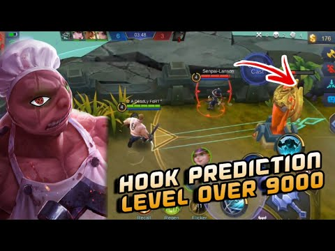ACCURATE HOOK PREDICTION 💯🔥  | RANK SEASON 13 | HOOK MONTAGE | WOLF XOTIC | MOBILE LEGENDS