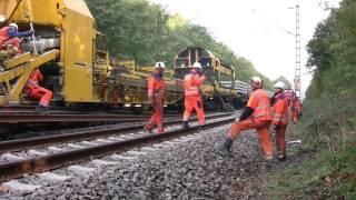 Gleisbau - Umbauzug