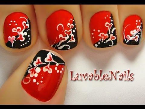 hearty vines nail art luvablenails