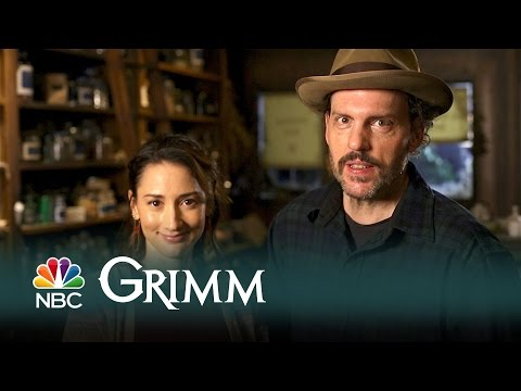 Grimm  Memorable Moments: Bree Turner and Silas Weir Mitchell Digital Exclusive