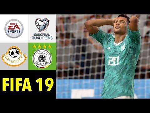 Fifa 19 Weissrussland V Deutschland L Em Qualifikation 2020