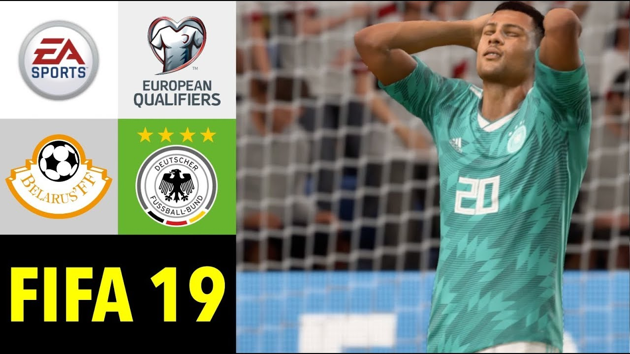 Fifa 19 Weissrussland V Deutschland L Em Qualifikation 2020 Prognose Full Hd