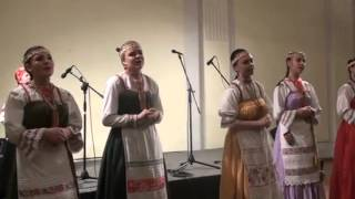 """Ансамбль """"Серебряная капелька"""" в Эстонии (показ коми свадьбы)"""