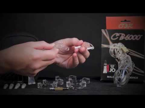How to Put The CB-6000 Male Chastity Device Together