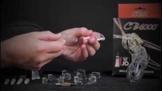 Як поставити і CB-6000 чоловіча цнотливість пристроїв разом