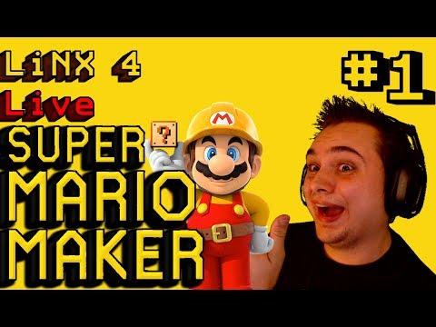 [L4 Live] Super Mario Maker 100 Mario Challenge Expert Mode No Skip #1