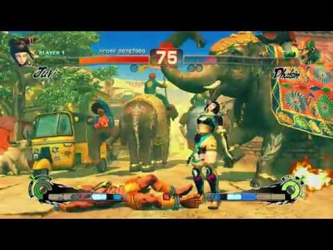 Ultra Street Fighter IV Gameplay Footage  Arcade Mode (PS4)