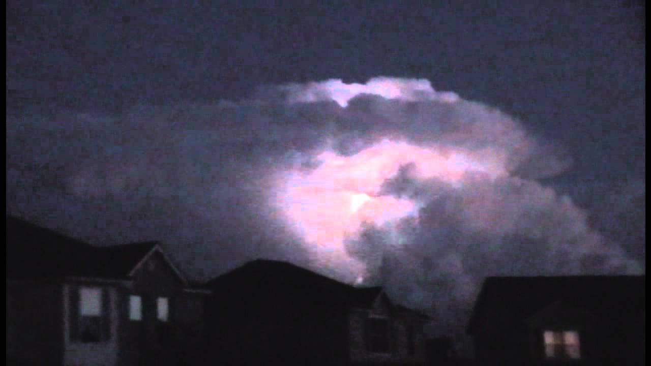 Airplane Passenger Captures Cumulonimbus Cloud in Action ... |Cumulus Clouds Lightning