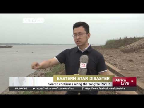 Search for cruise ship continues along the Yangtze River