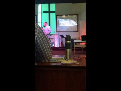 Justin Cellum at Bayway Church