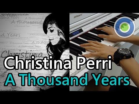 A Thousand Years【鋼琴版】(主唱: Christina Perri) 【暮光之城:破曉】插曲