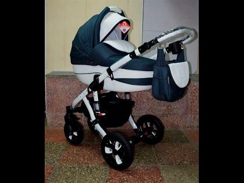 Детская коляска 2 в 1 Adamex Avila. Видео обзор универсальной .