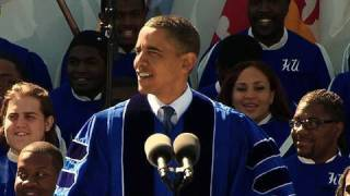 President Obama at Hampton University