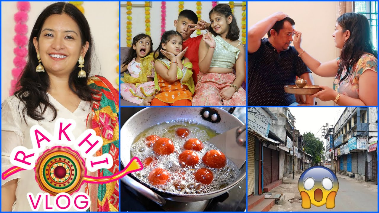 Rakhi Celebration With Family  - A Day in My Life | CookWithNisha