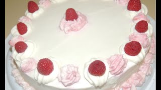 Valentine's Special White Chocolate Cake With Raspberry Filling # 28