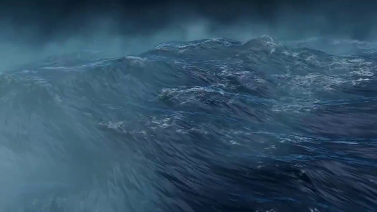 Real Ocean Waves Effect Animated Background Videos,Sea Ocean Video ...