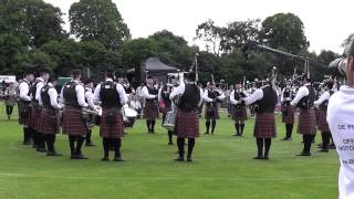 Police Service of Northern Ireland Pipe Band UK championships 2014