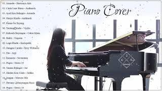 Musik Instrumen 2019 🎹 Musik Cafe PIANO Instrumen 🎹 Cinta Luar Biasa,Hanya Rindu