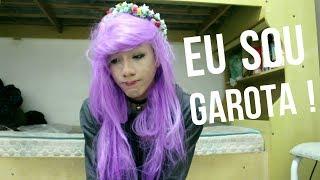 ENGANANDO GAROTOS QUE SOU UMA GAROTA !