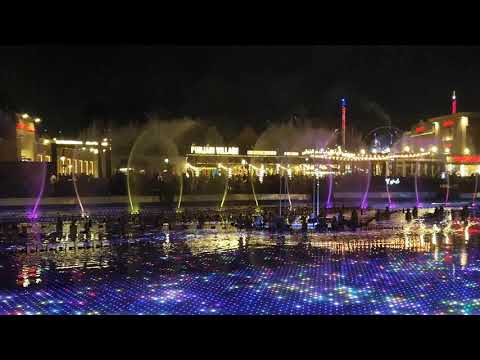Water Dance at Global Village Dubai 2019-2020. #Dubai #2020 #Global Village