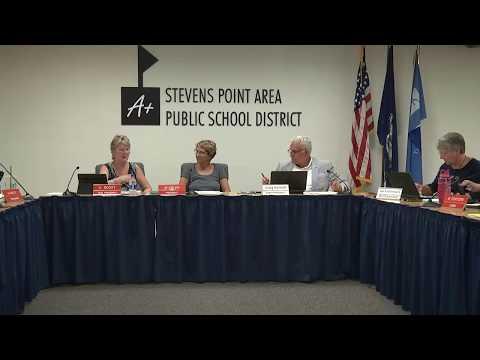 August 13, 2018 Regular School Board Meeting
