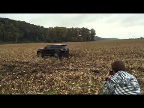 Range Rover Sport Autobiography 2014 off-road drifting