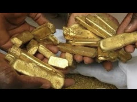 Congolese Villagers Discovers Mountain Full Of Gold
