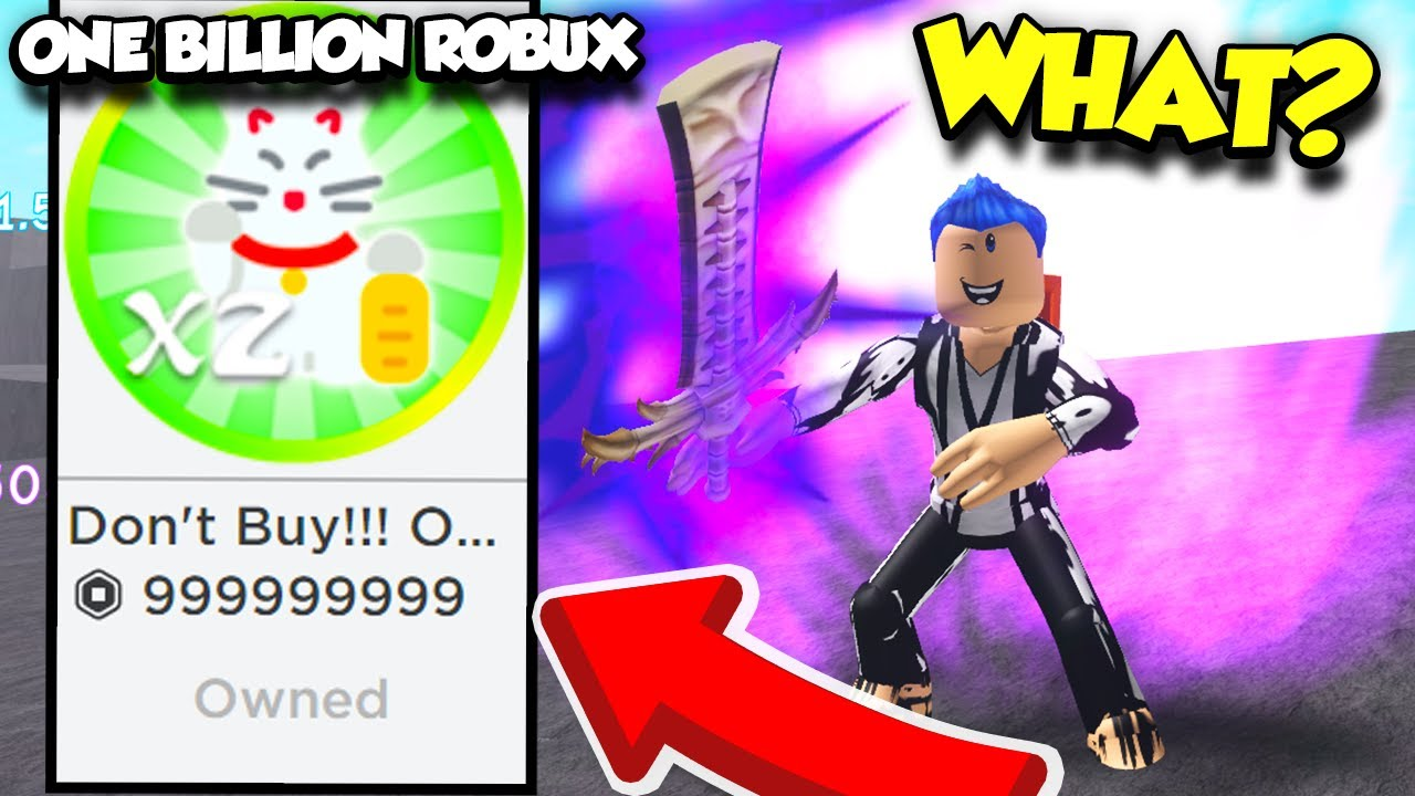 Youtube Roblox Ninja Simulator Get Robux M - The Most Expensive Gamepass Ever In Op Ninja Simulator And I