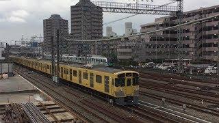 平日朝の西武池袋駅小手指駅付近(字幕入り)