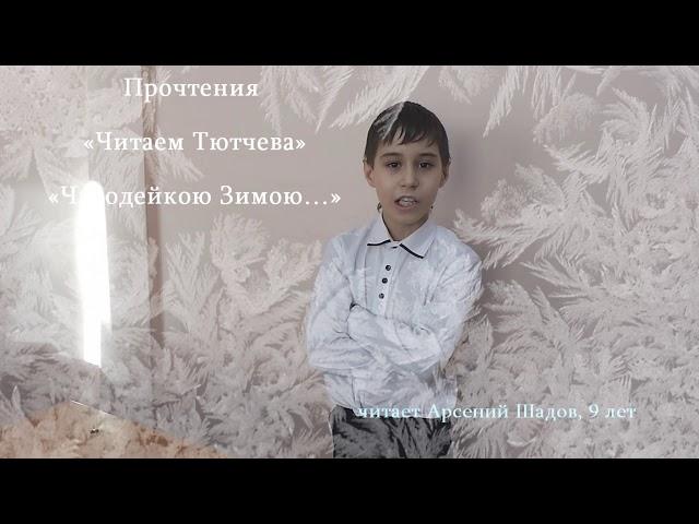 Изображение предпросмотра прочтения – АрсенийШадов читает произведение «Чародейкою Зимою…» Ф.И.Тютчева