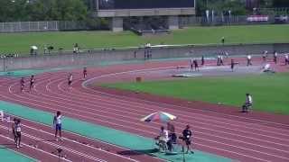 2013静岡中部中学新人共通男子200予選2組