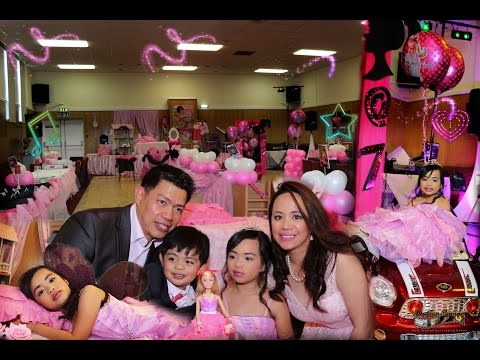 Barbie Theme-Marie Lexie 7th Birthday Celebration 16.05.15