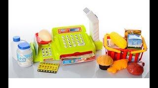 видео Купить игрушечную кассу, игрушечный магазин для девочек недорого