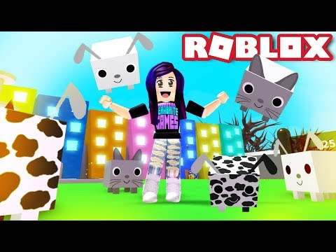 MY NEW PETS IN ROBLOX PET SIMULATOR!