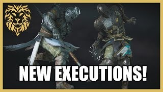 [For Honor] Insane NEW Executions! (Reaction)