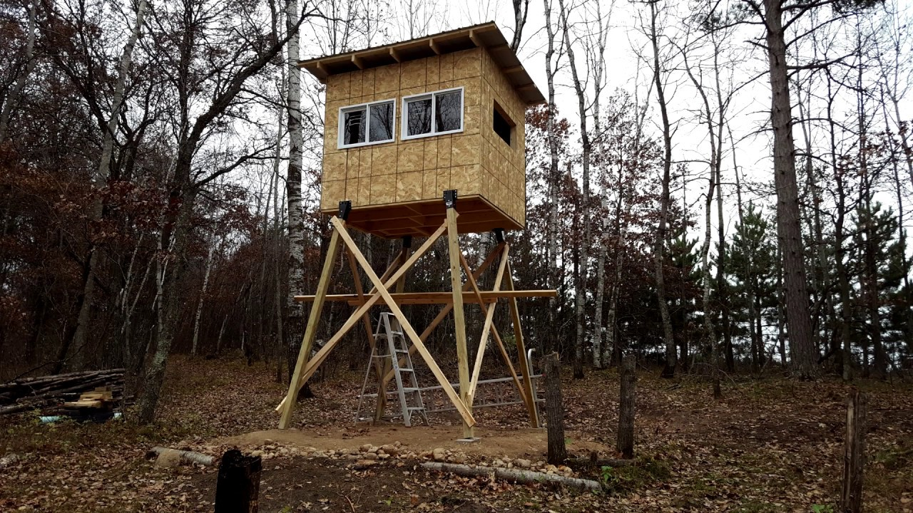 How to Build a Hunting Stand (Slide Show)