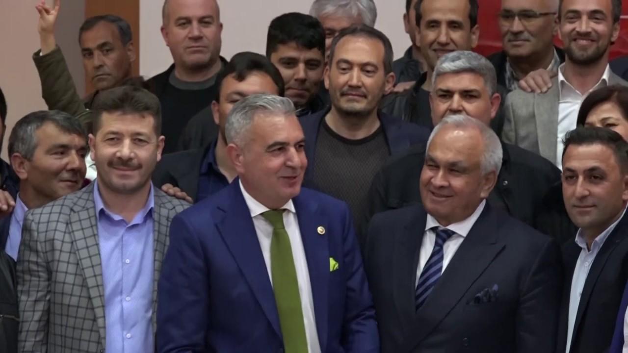 Başkan Tollu Tömük ve Çeşmeli'de Büyük Bir Coşkuyla Karşılandı