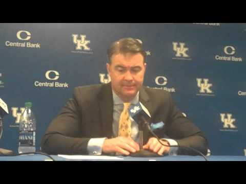 Matthew Mitchell UK Hoops vs Morehead St. Post Game Part 2
