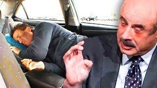 Dr. Phil ROASTS Dirt Bag, Living in his Car...