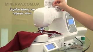 видео Швейно-вышивальная машина Bernina 780 с вышивальным блоком