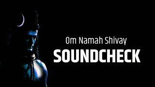 Soundcheck Om Namah Shivay DJ Prakash and Jayant MyMarathi
