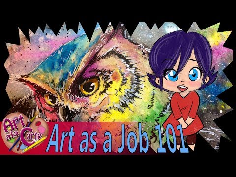 How I found my Artistic Style:  Art as a Job 101 Ep  5