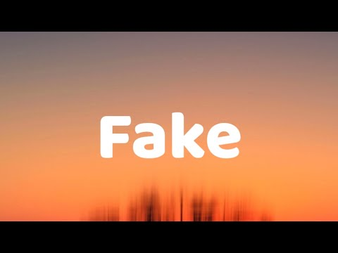 Fake - Lauv & Conan Gray LYRICS