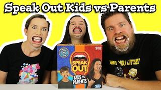 Speak Out Game Kids vs Parents