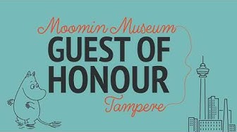 Become the Guest of Honour of Moomin Museum and Tampere, Finland