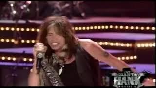Steven Tyler CMT Giants Hank Wiiliams Jr.