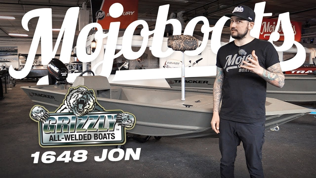 Mojoboats - Tracker Grizzly 1648 JON 2019