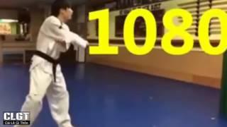 Taekwondo Những Cú Đá Đẳng Cấp Thế Giới   P2