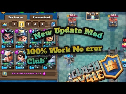 Clash Royale Mod Apk Versi Terbaru Unlimited Youtube